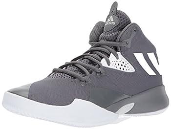 adidas Boy s Dual Threat 2017 J Grey Four/Grey Three/Grey ONE 7 Medium US Big Kid