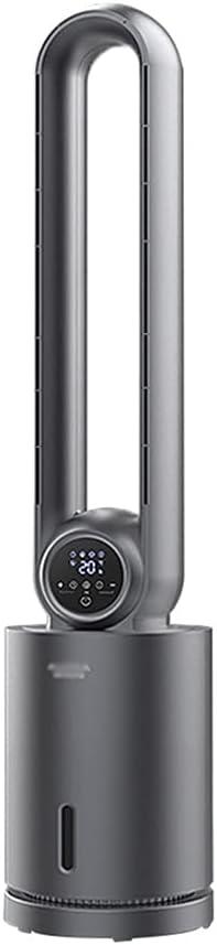 WXIANG El Nuevo Ventilador Tranquilo Torre Torre Fan Movimiento Oscilando Control Remoto 12 Configuraciones de Velocidad Purificación de Aire LED Pantalla Ventilador Tranquilo Cómodo