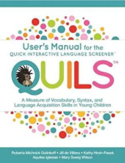 Golinkoff, R:  User¿s Manual for the Quick Interactive Langu