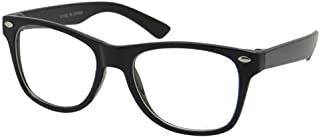 Kids Nerd Glasses Clear Lens Geek Fake for Costume Children's (Age 3-10)