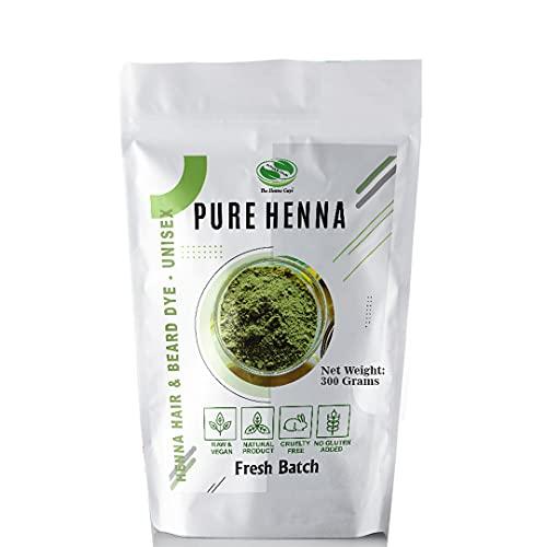 300 Grams - 100% Pure Henna Powder For Hair Dye - Red Henna Hair Color, Best Red Henna For Hair - The Henna Guys