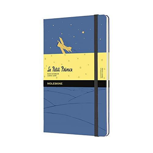 Moleskine - Limited Edition-Notizbuch, The Little Prince Limited Edition-Notizbuch, linierte Seiten, Großformat 13 x 21 cm, Farbe Grün