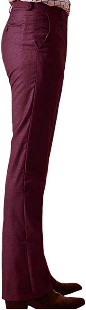 60s – 70s Mens Bell Bottom Jeans, Flares, Disco Pants HAORUN Men Bell Bottom Pants 60s 70s Vintage Flare Formal Dress Trousers Slim Fit $30.99 AT vintagedancer.com