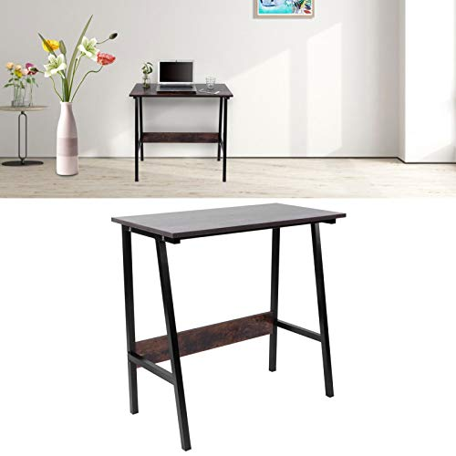 Cerlingwee Mesa para PC, Escritorio para computadora Mesa de Oficina Acabado antirrayas Instalar Simple para el hogar para la Oficina para estudiar