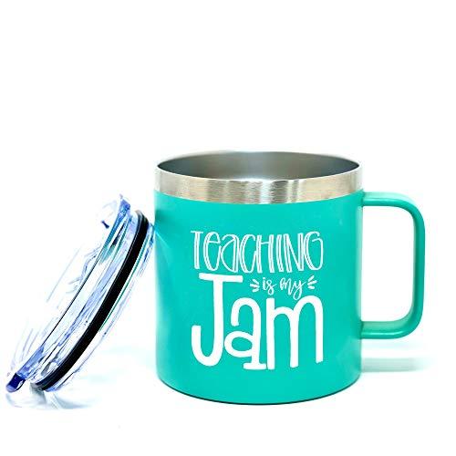 Teacher Cup Gifts - Teacher Coffee Mug Tumblers for Women - 14 oz Tumbler