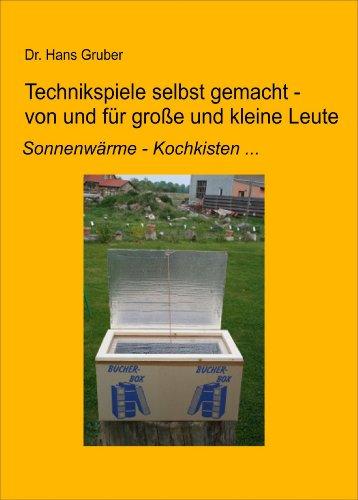 Technikspiele selbst gemacht von und für kleine und große Leute: Sonnenwärme - Kochkisten ...