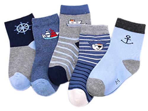 5 Paar Kinder Winter Socken Weiche dicke Socken Winter warme Socken Winter Zubehör #129