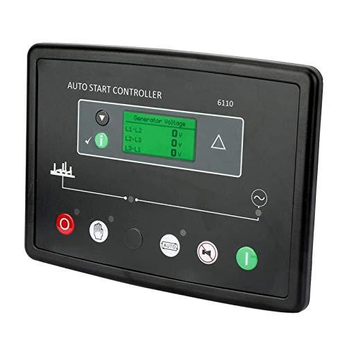 Auoeer Controlador Generador Electrónica, Generator Controller DSE6110 Electrónica de Inicio automático del módulo del Panel de generador Diesel