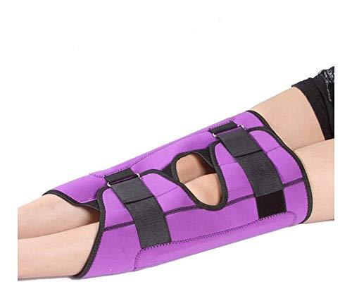 ZHANGYY Ortesis de Correas de corrección de piernas para niños 98 (Color: Morado, Talla: S)