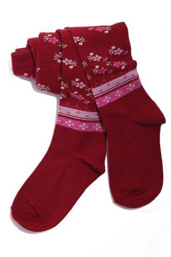 Weri Spezials Baby und Kinderstrumpfhose Empfehlung: 5-6 Jahre, Größe: 110/116, Farbe: Dunkelrot (Preis vom Hersteller)