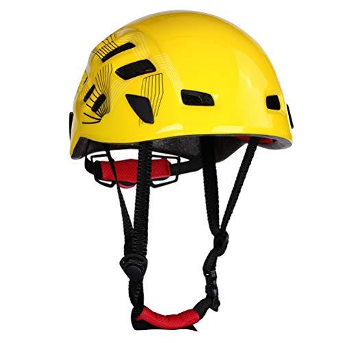 Surenhap - Casco de ciclismo, color amarillo