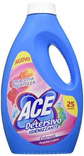 Ace+ Detersivo Liquido Lavatrice Colorati - 1375 ml