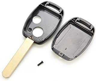 AuCatStore(TM) for Honda Civic Accord Jazz FRV Replace Remote Key Fob Case Shell 2 Button PL