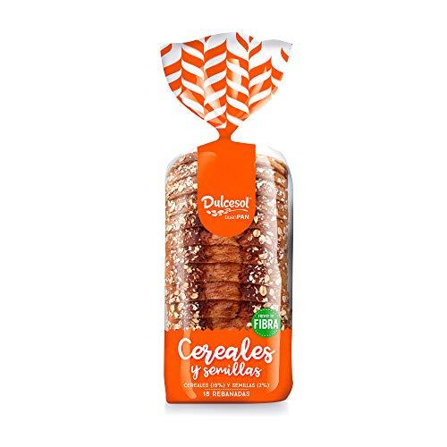 DULCESOL 😋🍞🌾 Pan de molde 15 cereales y semillas - 675 gramos 😋🍞🌾