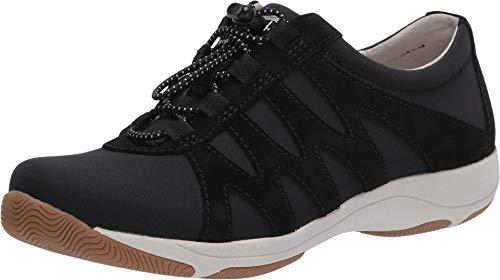 Dansko Women's Harlie Black Sneakers 9.5-10 M US