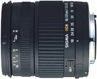 Sigma 18 125/3,5 5,6 DC digital Objektiv für Nikon D