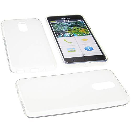 foto-kontor Hülle für Emporia Smart 3 Tasche Gummi TPU Schutz Handytasche transparent