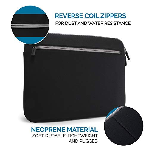 Amkette Neo Case Multi Pocket Laptop Sleeve for 15-inch...