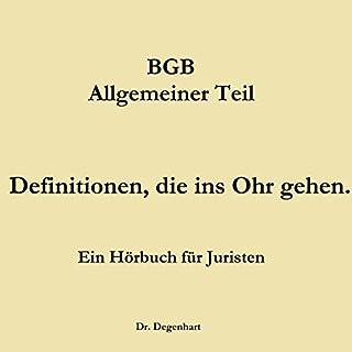 BGB - Allgemeiner Teil Titelbild