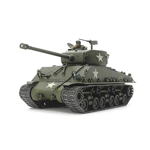 タミヤ 1/48 ミリタリーミニチュアシリーズ No.96 アメリカ戦車 M4A3E シャーマン イージーエイト プラモデ...
