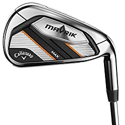 commercial Callaway Golf 2020 Mavrick Max Custom Ladies Irons (Right Hand, Graphite, Ladies, 5 Irons) golf irons for mid handicappers