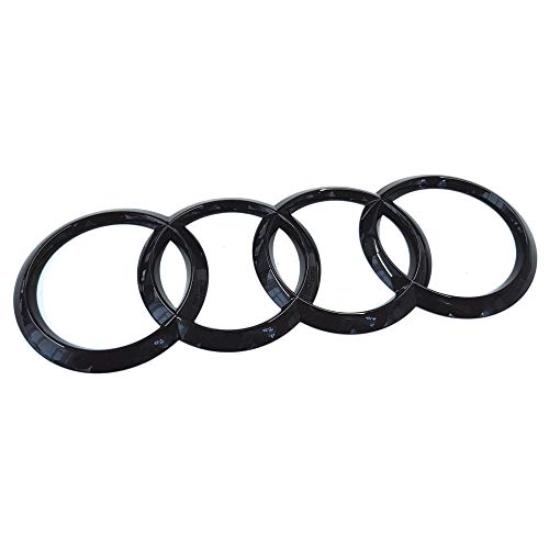 Audi 80A853742At94 - Emblema adhesivo Blackline Black Edition, negro brillante