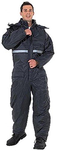 Endurance Gepolsterter, wasserdichter Thermo-Overall mit Kapuze, zum Angeln/Camping, Größe XXL