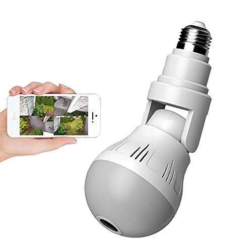 IYUNDUN Cámara De Bombilla HD 1080P, Lámpara De Cámara IP...