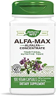 Nature's Way Alfa-Max, 100 Capsules (Pack of 2)