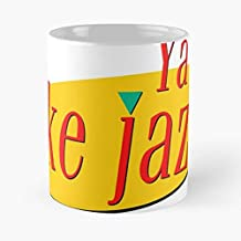 Ya Like Jazz Classic Mug - The Funny Coffee Mugs For Halloween, Holiday, Christmas Party Decoration 11 Ounce White-luminskin.