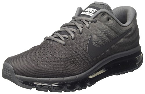 Nike Men's Air Max 2017, Cool Grey/Anthracite-Dark Grey, Size 10