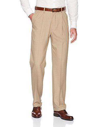 Men's Pleated Cuffed Dress Pant
