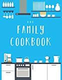 Our Family Cookbook: The XXL blank recipe journal (letter format) to write in all your favorite family recipes and notes!