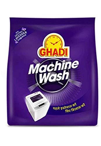 Ghadi Machine Wash Detergent Powder 500 GR Pack Of 2 With 2 Detergent Storage Box