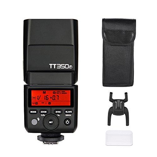 Godox Thinklite TT350F Mini 2.4G Inalámbrico Cámara TTL Master Flash & Esclavo Speedlite gn36 del HSS 1/8000S para Fujifilm x-Pro2 Cámaras ILDC