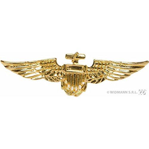 Unbekannt Aptafêtes–ac3020–Brosche Flieger goldfarben