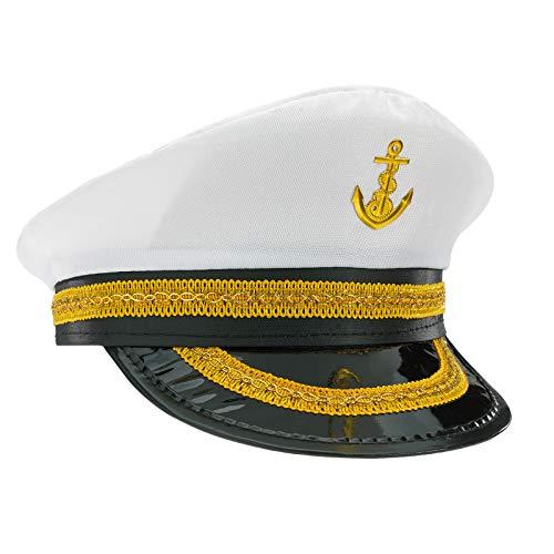MFAZ Morefaz Ltd Kapitän Sailor Hoed Cap Yacht Party Hoeden Marine Admiral Sailor Kostuum Accessoires Baseballpet