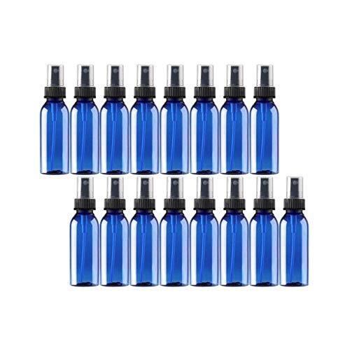 TIREOW 16PC Flacon Vaporisateur Bleu 30ml, Flacon Pulvérisateur, Petit Vaporisateur Réutilisable Et Rechargeable Pour Parfum D'huile Essentielle