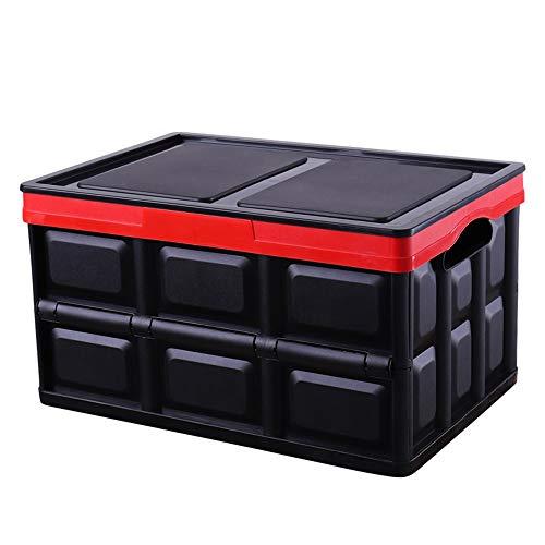 CJK Zusammenklappbare Aufbewahrungsbox Faltbarer Abfalleimer Für Schränke, Haus, Auto, Reiseorganisation (Hochleistungs-Kunststofforganisatoren Mit Tragegriffen) Platzsparend