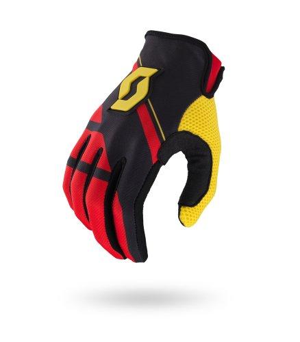 Scott 350 Armada MX Motocross / DH Fahrrad Handschuhe schwarz/rot/gelb 2015: Größe: XXL (12)