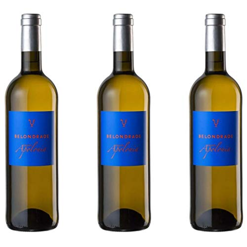 Belondrade Quinta Apolonia Vino Blanco - 3 botellas x 750ml - total: 2250 ml
