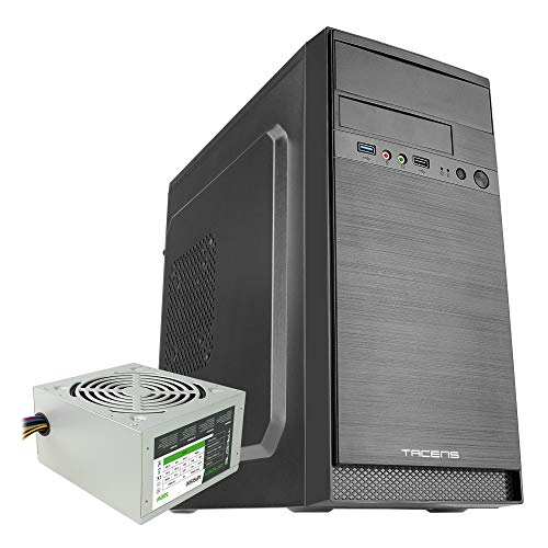 Tacens Anima AC4500, Caja de Ordenador MicroATX, Mini-ITX Minitorre + PSU 500W