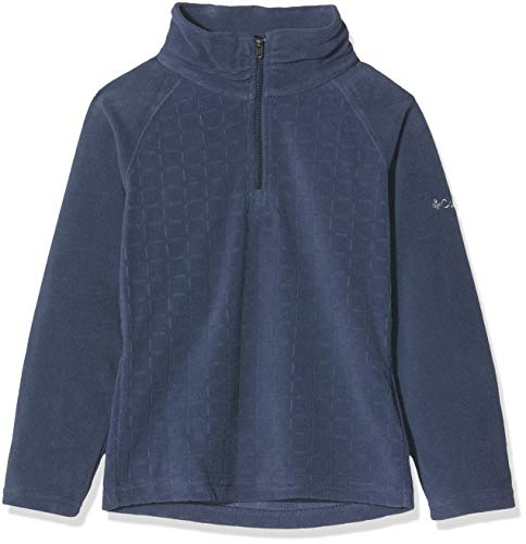 Columbia Glacial II Fleece Print Half Zip Fille Veste, Nocturnal Drop, FR : S (Taille Fabricant : S)