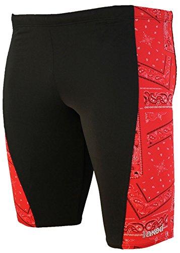 Jaked Junior Bandanas Jammer - Black/Red Size 24