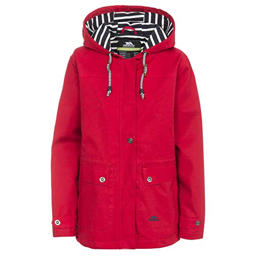 Trespass Seawater Veste Femme, Rouge, FR : S (Taille Fabricant : S)