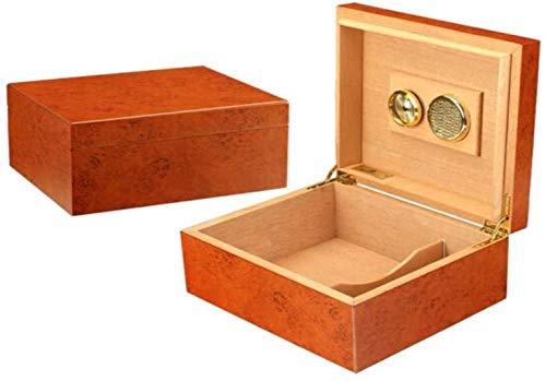 WANGXIAOYUE Boîte à cigares Boîte à cigares, pin Cigare, Petit humidificateur de cigares, boîte à cigares Portable, chaleureuse et dodue Boîte à Tabac