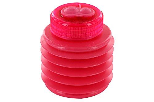 KUM AZ347.00.19-R - Doppel-Magnesiumspitzer Softie 442 M2 R, Behälter bruchsicher, pink, 1 Stück