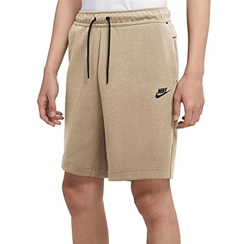 Nike Sportswear Tech Fleece Men's Shorts CU4503-224 (Grain/Black), Medium