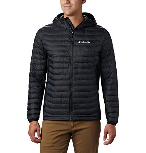 Columbia Men's Powder Pass Hooded Jacket - Big , Black, 3X