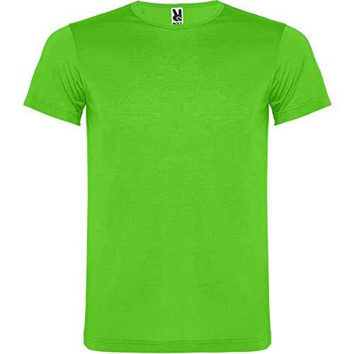ROLY Camiseta Akita 6534 Niño Verde FLÚOR 222 11/12